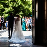 Salida iglesia boda Santander