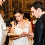 Ceremonia de boda en iglesia Santander