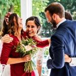 Regalo del ramo en boda