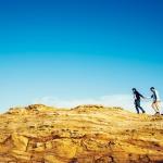 Preboda en los acantilados de Costa Quebrada
